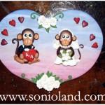 scimmie-sposi